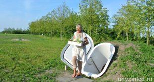 Современный пластиковый погреб — Ground Fridge