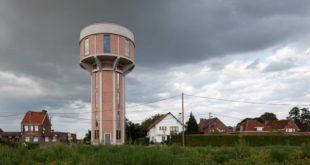 Бельгийский дом в водонапорной башне