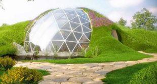 Дом геодезический купол Biodomes