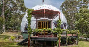 Дом купол построенный в 70-е в Австралии