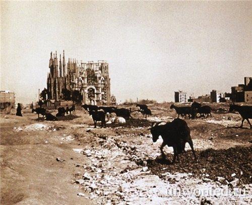 Саграда Фамилия 1915 год