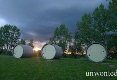 Модули отеля из канализационных труб