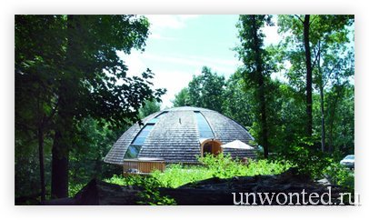 Купольный эко-дом Domespace использует солнечную энергию