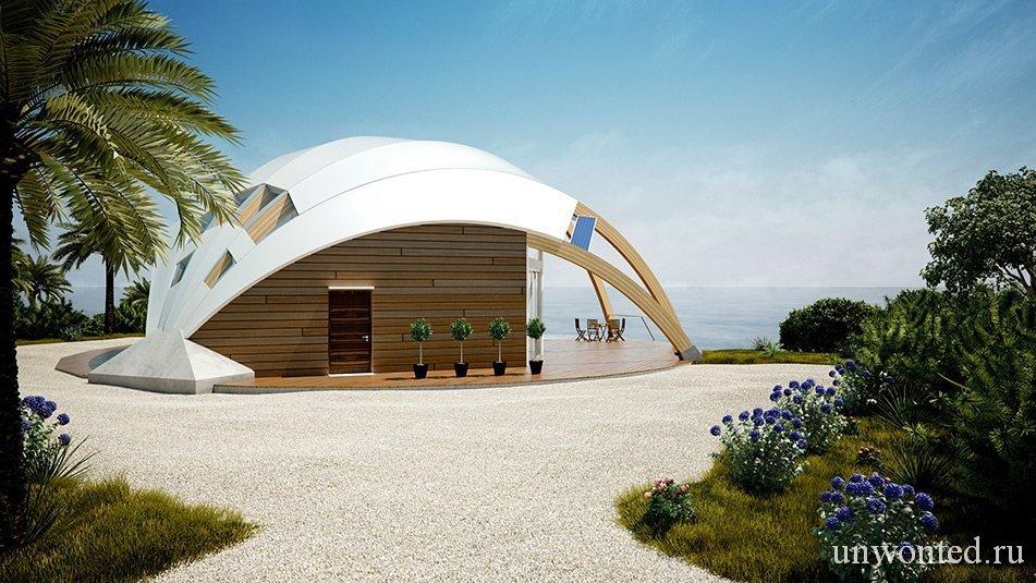 Купольный эко дом Pearl