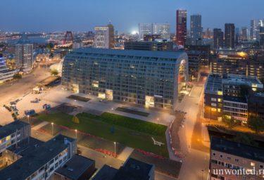 Стройплощадка городского рынка Роттердама