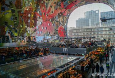Необычный городской рынок - торговые ряды