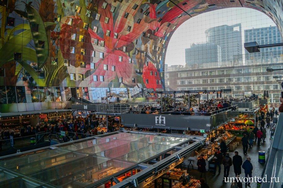 Необычный городской рынок - магазины и торговые ряды