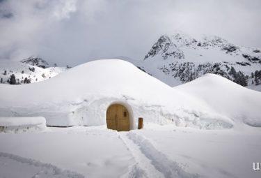 Необычный отель Iglu Village