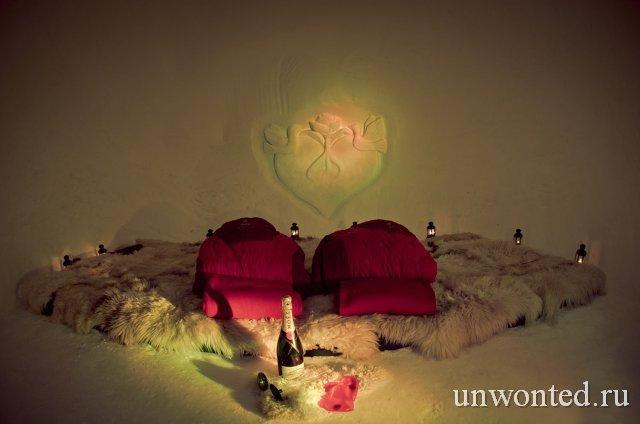 Отель Igloo Village романтический иглу