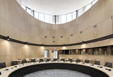 Зал для совещаний - необычное здание Kuggen