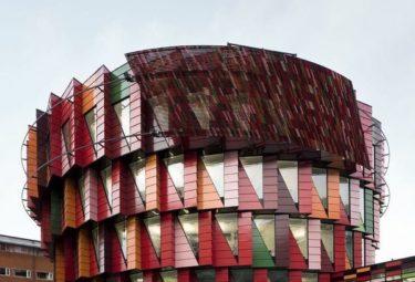 Необычное здание - шестерня в Шейцарии
