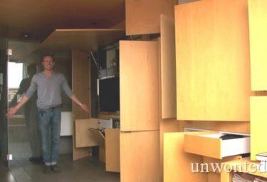 Необычная квартира - трансформер