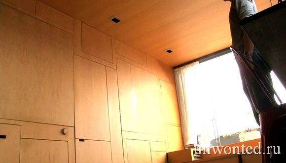 Необычная квартира - трансформер в закрытом виде