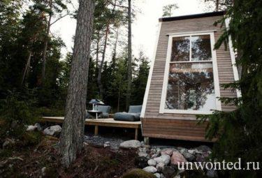Маленький лесной дом Nido