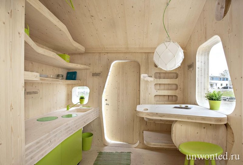 Маленький дом для студентов - фото интерьера