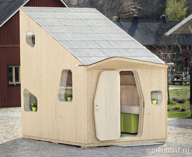Маленький студенческий дом Bokompakt