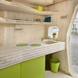 Кухня в в маленьком доме для студентов