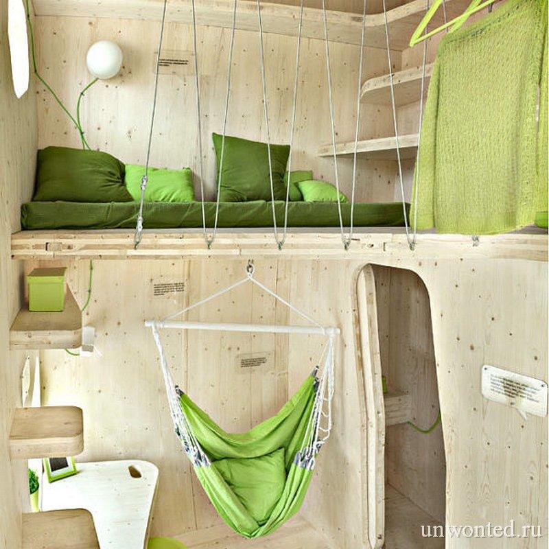 Спальня в студенческом доме