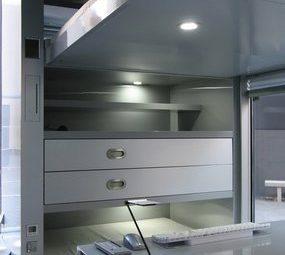 Выдвижная двуспальная кровать в i-home