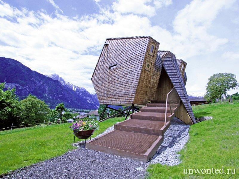 Дом - Птица Ufogel в Австрии
