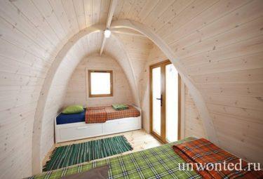 Необычные жилые мини-модули POD-house