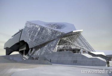 Нееобычная форма - Музей слияния