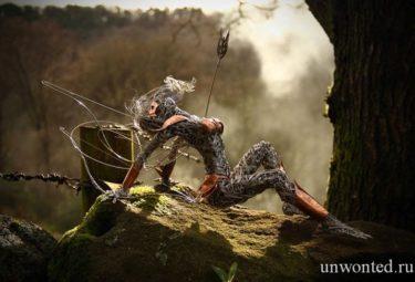 Скульптуры из проволоки Робина Уайта