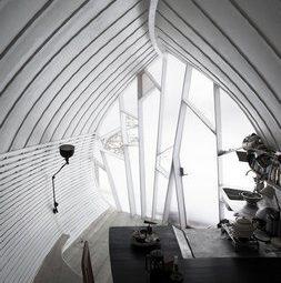 Интерьер Чешуйчатого мини-дома