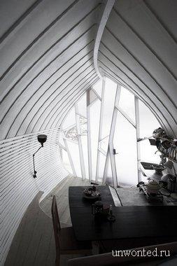 Интерьер Чашуйчатого мини-дома