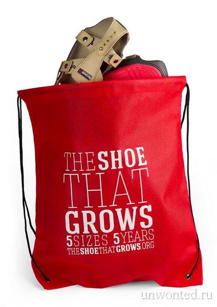 Растущая обувь - 5лет, 5 размеров