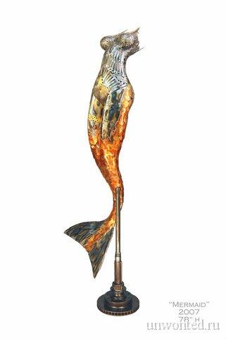Статуя русалки - Брайан Мок