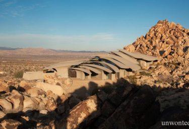Пустыня вокруг дома Desert House