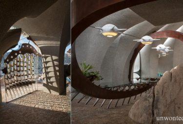 Сложные детали интерьера Desert House