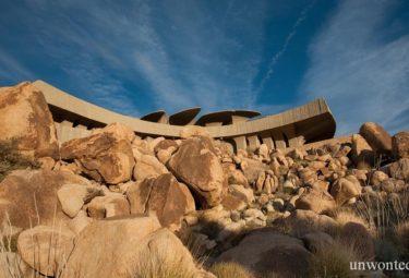 Органическая архитектура в пустыне Desert House