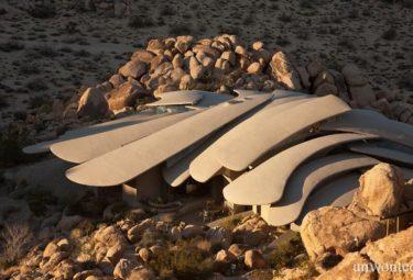 Desert House сливается с окружающим пустынным ландшафтом