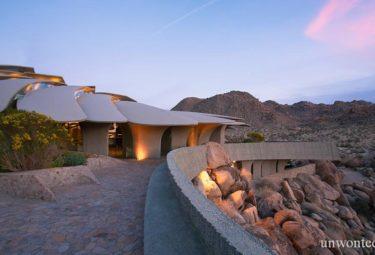 Современная архитектура - дом в пустыне фото