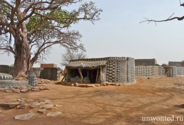 Необычная деревня - изолированная Таибели