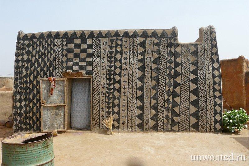 Дом вождя деревни Tiebele