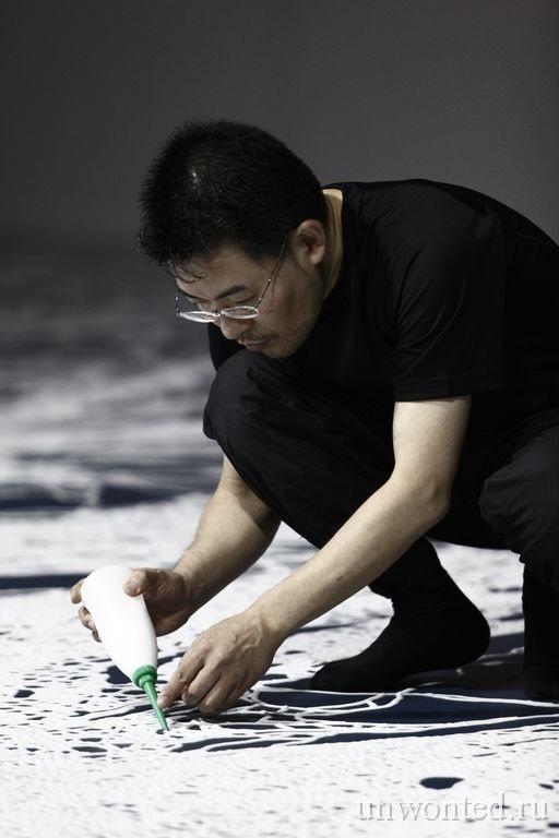 Мотои Ямамото - картины из соли