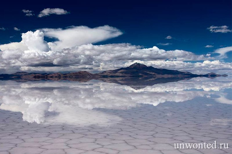 Солончак Уюни Боливия