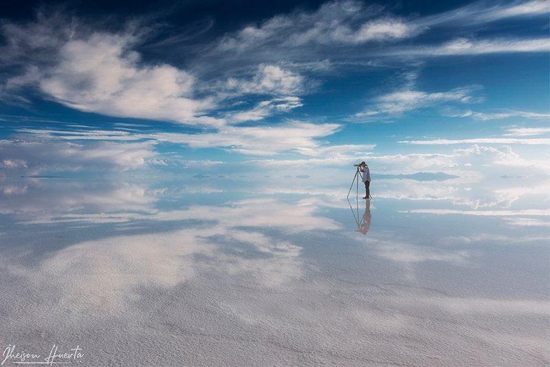 Природное зеркало Салар де Уюни