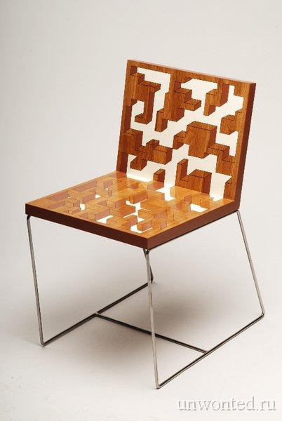 Стул с иллюзией лабиринта - Benjamin Nordsmark
