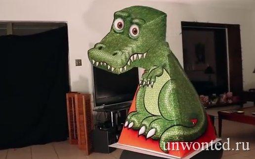 Удивительная T-Rex эллюзия