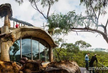 Дом пещера в Австралии