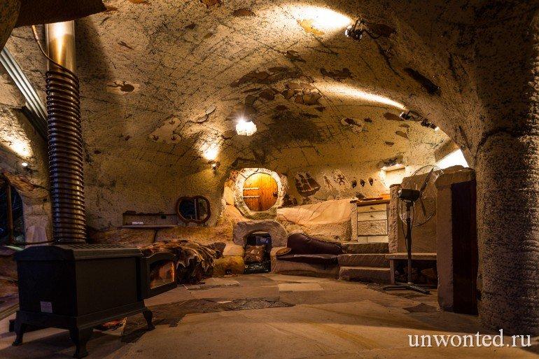 Дом-пещера
