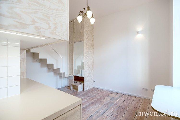 Мини квартира от дизайн-студии Spamroom