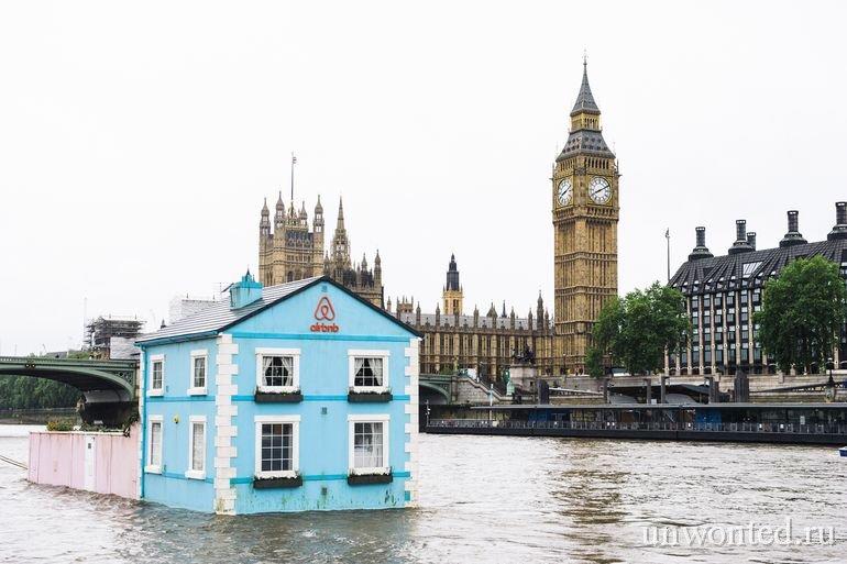Полнофункциональный плавающий дом