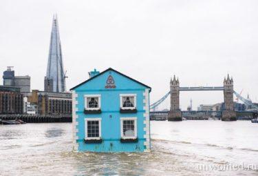 Полнофункциональный плавучий дом