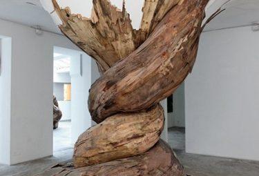 Деревянные арт объекты Энрике Оливейра