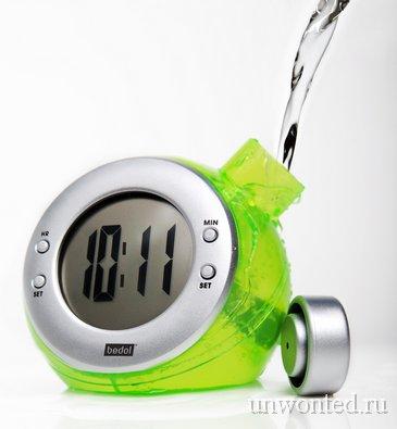 Часы работающие на воде
